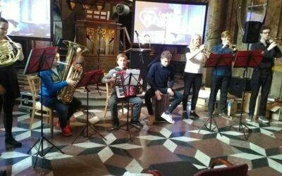 Naši žáci v Praze