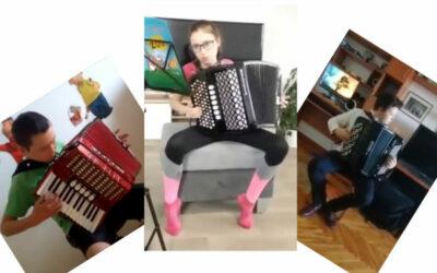 Naši studenti hrají nové skladby